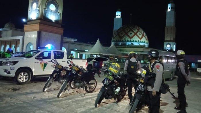 Polres Bulungan Patroli Pantau Konvoi Takbir Keliling, Kasatlantas: Jalanan di Tanjung Selor Sepi