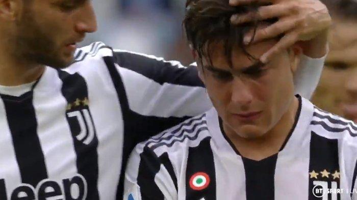 Tangis Dybala Warnai Kemenangan Juventus atas Sampdoria di Liga Italia, Bianconeri Dalam Masalah