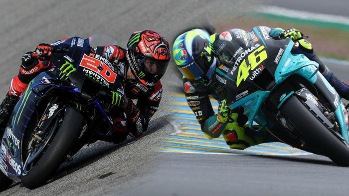 Klasemen MotoGP setelah Balapan Sirkuit Le Mans, Rossi Jauh di Belakang, Quartararo ke Puncak
