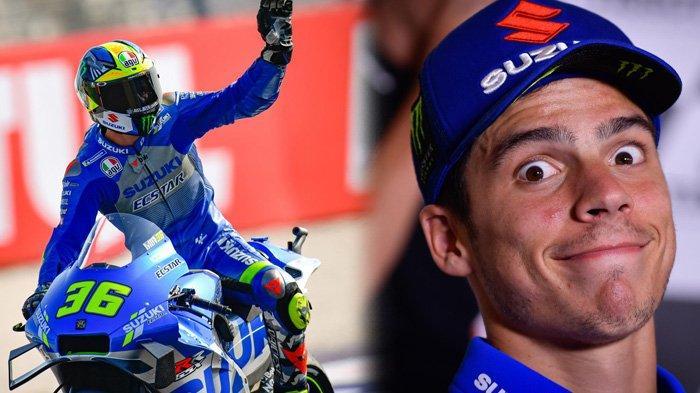Hasil MotoGP Eropa, Podium Pertama Joan Mir Menuju Juara Dunia, Suzuki Sabet Dua Juara Malam Ini