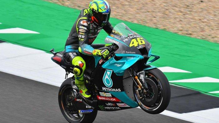 MotoGP Aragon 2021, Valentino Rossi Sadar Diri Payah Jelang Pensiun, Terperosok di Bawah Muridnya
