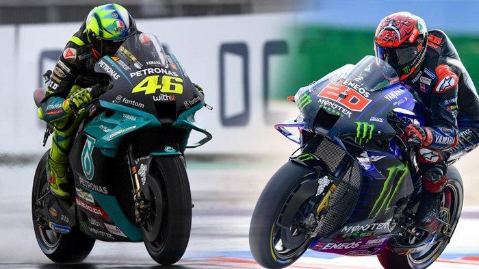 Live Streaming MotoGP San Marino 2021, Perpisahan Buruk Rossi, hingga Quartararo Terancam Gagal Lagi