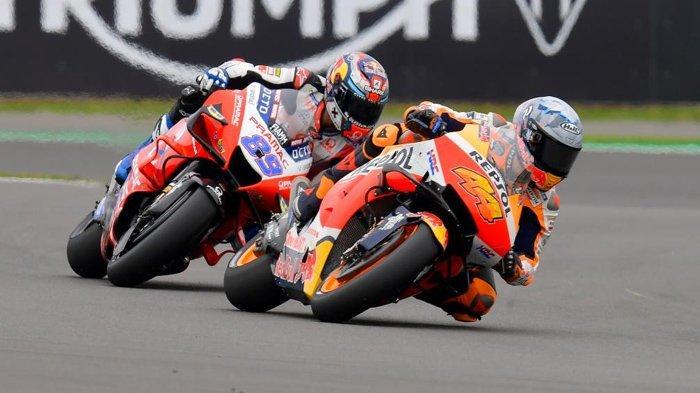 Hasil Kualifikasi MotoGP Inggris 2021, Quartararo dan Marquez Gagal, Pol Espargaro Pole Position