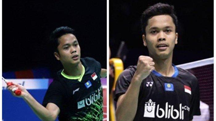 Dukung Tim Bulutangkis Indonesia, Ginting vs Antonsen Pukul 11.45 WITA, Link Live Streaming di Sini