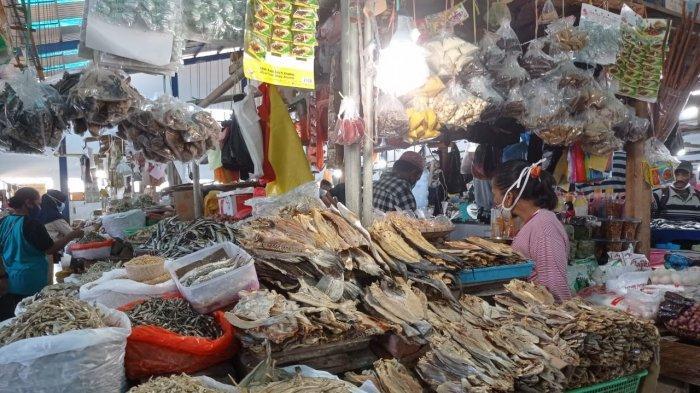 Pedagang Ikan Kering di Pasar Yamaker Akui Impor dari Malaysia, Begini Reaksi PSDKP Nunukan
