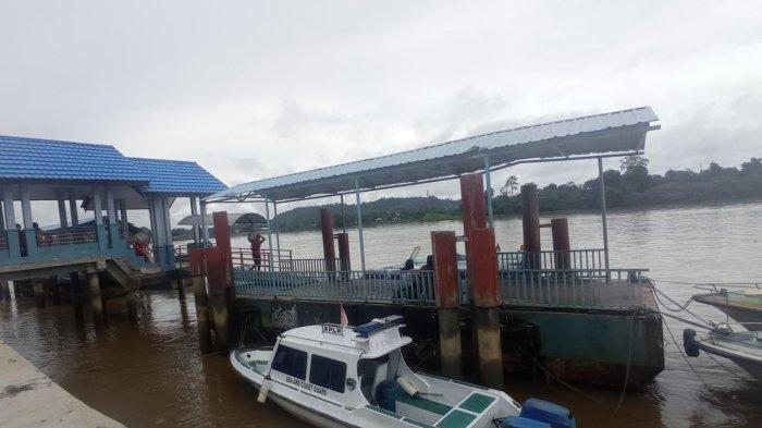 Larangan Mudik,Penumpang di Pelabuhan Speedboat Malinau Sepi, Pengiriman Logistik Padat