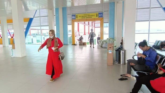 H-7 Lebaran Idul Fitri, Tak Ada Lonjakan Pemudik di Pelabuhan Tengkayu I Tarakan