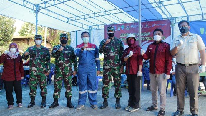 Pertamina EP Bunyu Field Dukung Serbuan Vaksin Kodim 0903 Bulungan, Sasar Anak Sekolah & Masyarakat