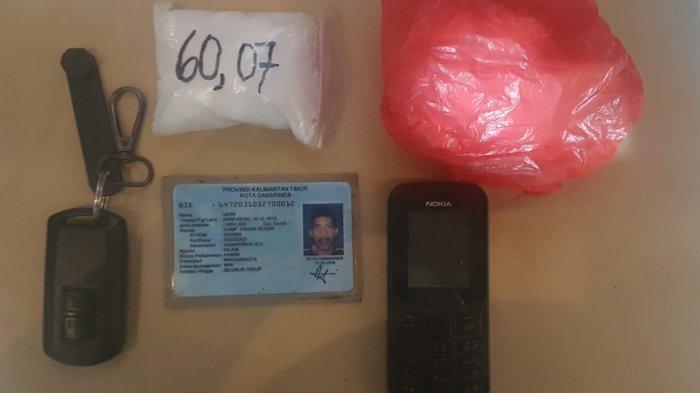 Bawa Sabu di Pasar Segiri Kota Samarinda Udin Ditangkap, Polisi Curiga Pelaku Mondar Mandir