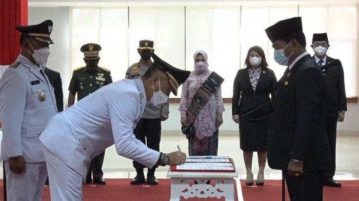 Wempi -Jakaria Resmi Jadi Bupati dan Wakil Bupati Kabupaten Malinau Periode 2021-2024
