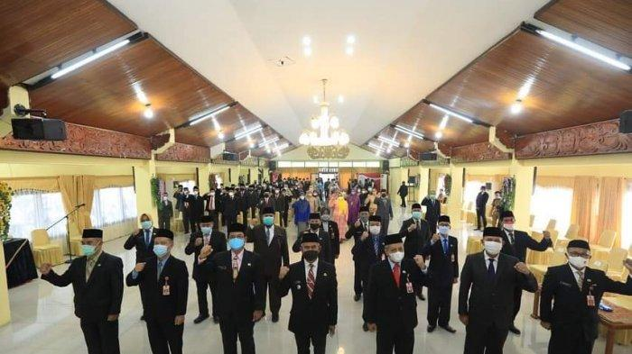 93 Pejabat Struktural Dilantik, Walikota Tarakan Minta ASN Cepat Menyesuaikan Diri Dengan Tugas Baru