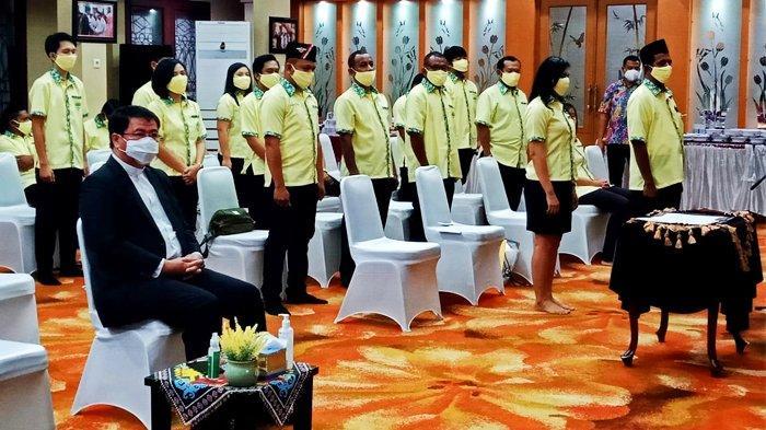 Pengurus Pemuda Katolik Kalimantan Timur Resmi Dilantik, Pesan Wagub Kaltim: Lawan Perusak NKRI