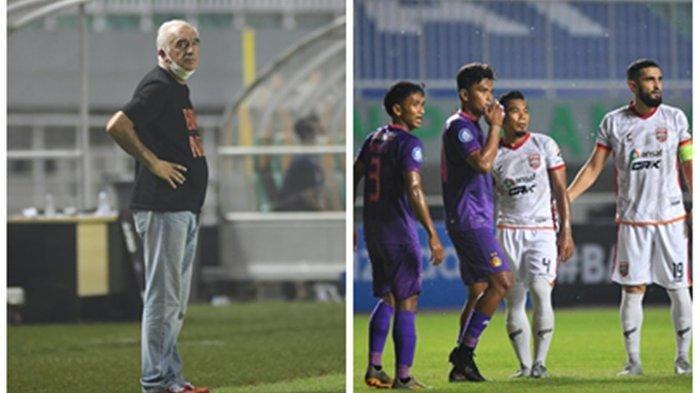 Dikalahkan Persik Kediri di Liga 1, Pelatih Borneo FC Mario Gomez Angkat Suara, Tak Lagi di Puncak