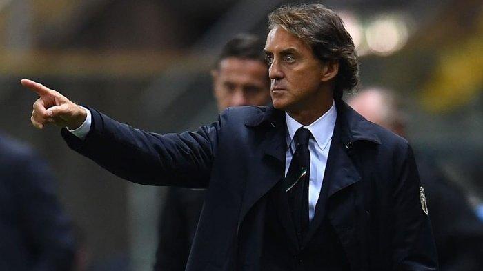 Pelatih Timnas Italia, Roberto Mancini. (Instagram / @azzurri)