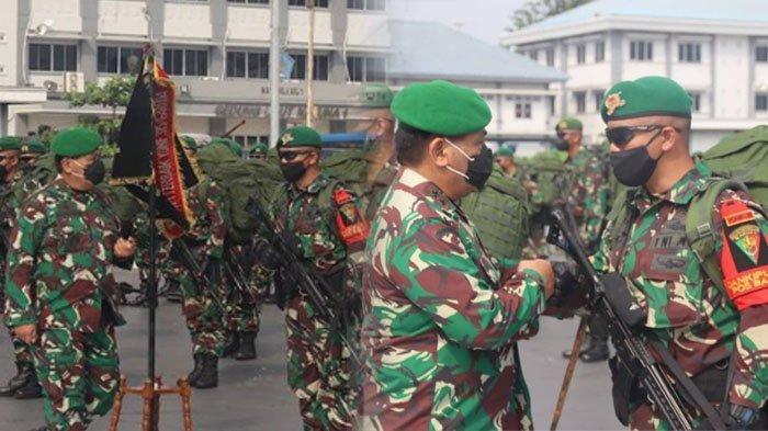 Pelepasan 400 Pasukan Setan untuk menumpas KKB Papua.
