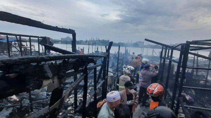 Update Kebakaran di Samarinda: Puluhan Warga Kehilangan Rumah, Sempat Terdengar 5 Kali Suara Ledakan