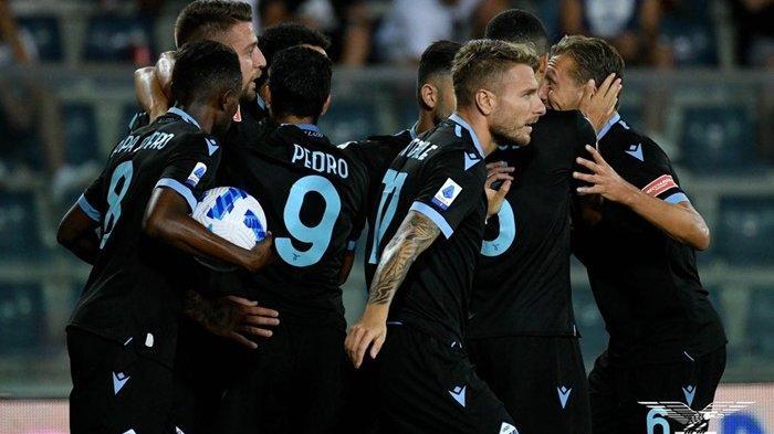 Hasil Liga Italia, Lazio Sukses Permalukan Empoli 3-1, Sassuolo Kalahkan 10 Pemain Verona