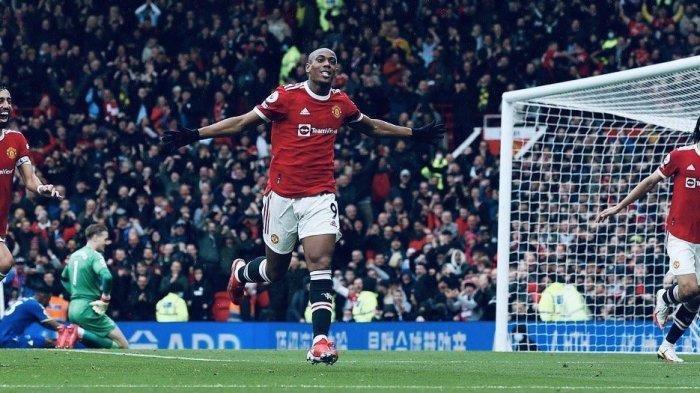 Hasil Pertandingan Liga Inggris Man United vs Everton 1-1, Gol Martial Dimentahkan Andros Townsend