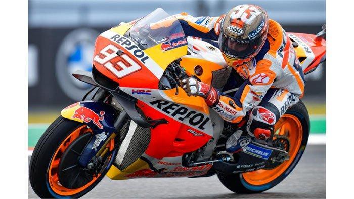 Juara MotoGP Amerika, Marc Marquez Gagalkan Ambisi Murid Valentino Rossi, Quartararo Finish Kedua