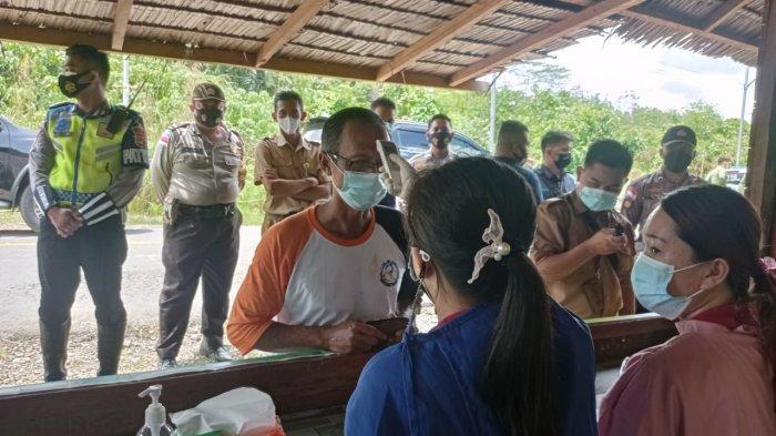 Pemkab Malinau Kembali Batasi Keluar Masuk Orang diPos Perbatasan, Wajib Ada Surat Negatif Covid-19