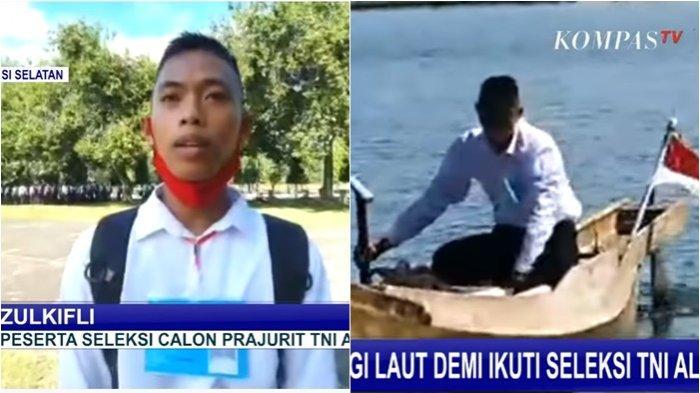 Demi Seragam TNI, Pemuda Rela Dayung Perahu Seberangi Lautan, Ada yang 2 Kali Gagal Lulus