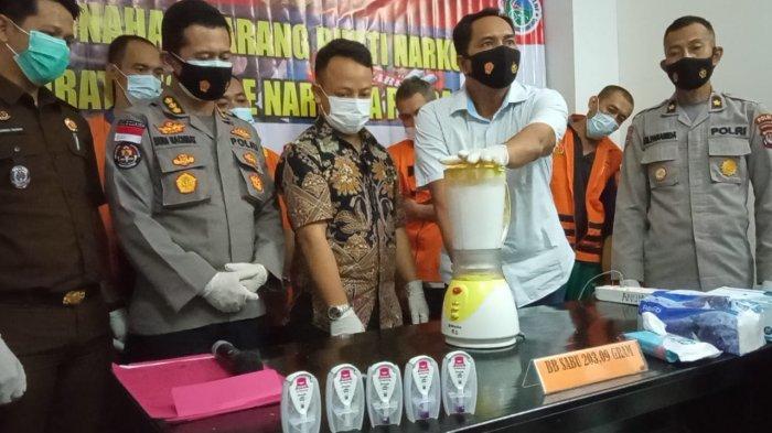 Polda Kaltara Musnahkan 203,09 Gram Sabu Asal Malaysia, 9 Tersangka Diringkus, Jaringan Kota Tarakan