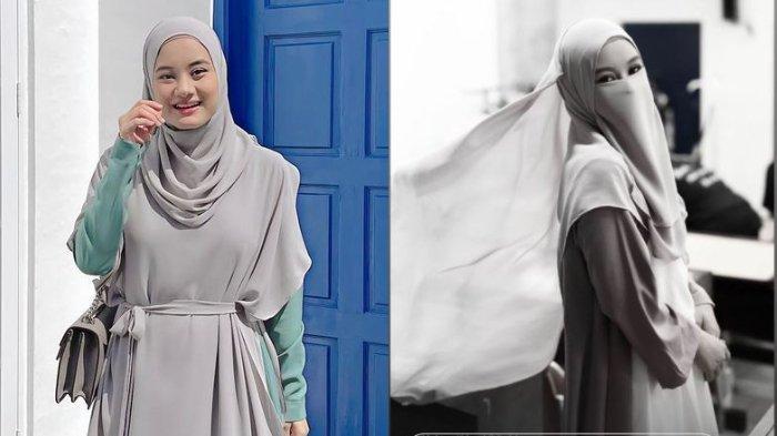 Dinda Hauw Unggah Potret Dirinya Pakai Cadar, Buntut Suami Kesal Saat Foto Tanpa Hijab Tersebar?