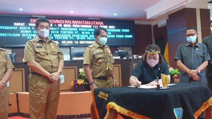 SAH! Pemprov dan DPRD Setujui Perubahan Perda PT Migas Kaltara Jaya, Berikut Pandangan Dirut MKJ