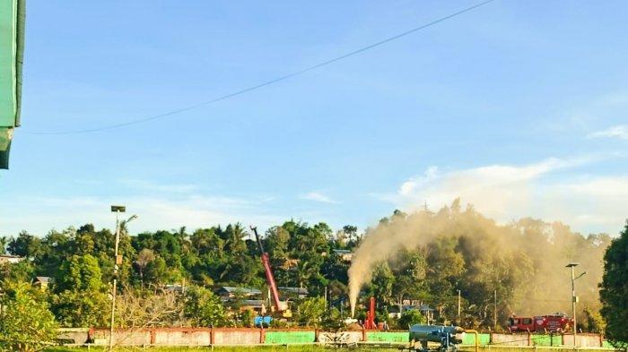 Muncul Semburan dari Sumur Milik Pertamina di Tarakan, Warga Khawatir Berbahaya: Baunya Menyengat