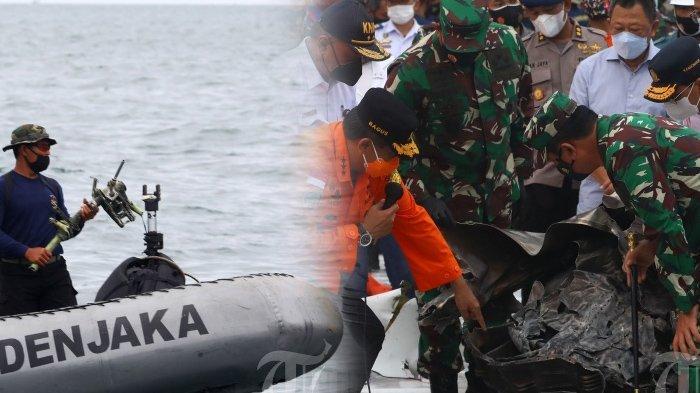 Update Sriwijaya Air SJ 182, Mesin Besar 200 Kg Berhasil Diangkat dari Laut, CVR Sudah Ketemu?