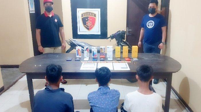 Tiga Remaja Pria di Bontang Maling Handphone, Dua Pelaku Masih Dibawah Umur