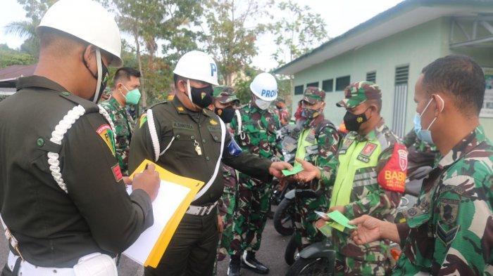 Dandim 0907 Tarakan Sidak Kendaraan Dinas & Pribadi, Pastikan Prajurit TNI Jadi Contoh Rakyat