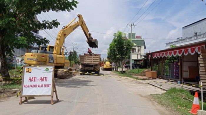 Jalan Durian di Tanjung Selor Diperlebar, Warga Diminta Tak Lagi Parkir Sembarangan