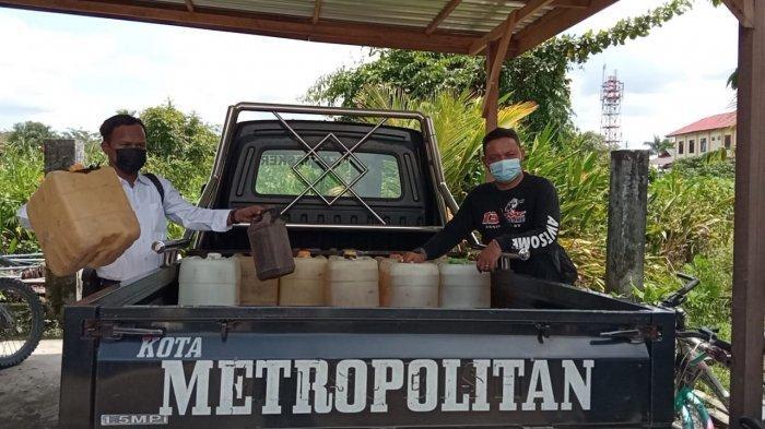 Polres Bulungan Amankan Pengetap BBM Jenis Bensin, Sudah Setahun Beroperasi, Terancam 4 Tahun Bui