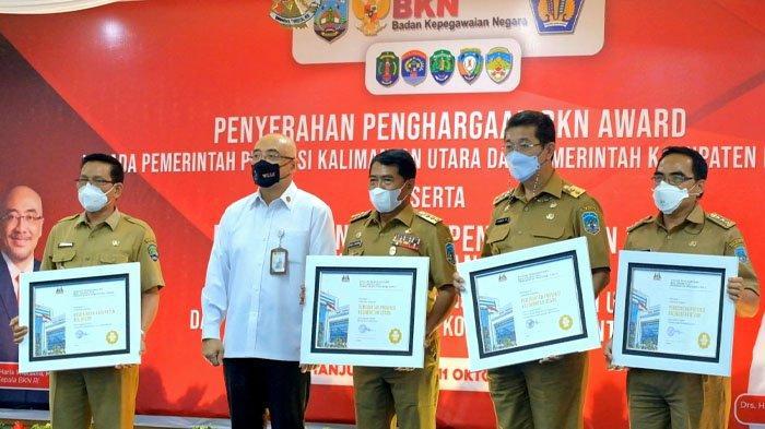 Hebat, Kalimantan Utara Borong Tiga Penghargaan BKN Award 2021