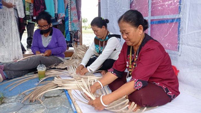 Manfaatkan Waktu, Ibu Rumah Tangga di Malinau Pilih Jadi Pengrajin Anyaman Bambu, TambahPenghasilan