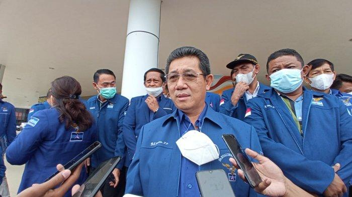 Menkum HAM Yasonna Laoly Tolak Partai Demokrat Kubu Moeldoko, Berikut Tanggapan Yansen Tipa Padan