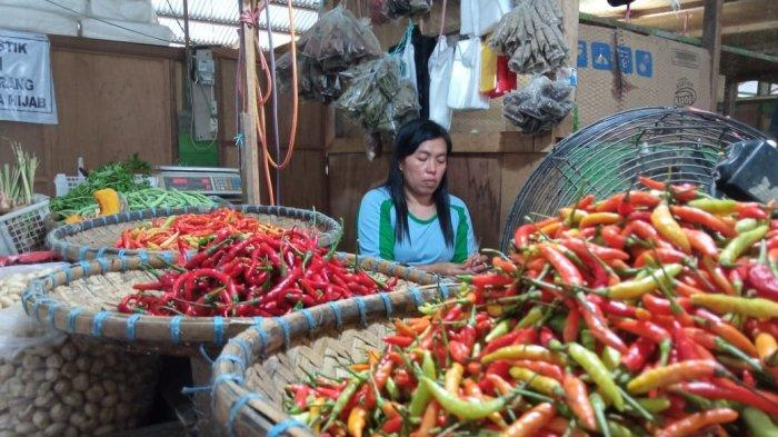 Awal Tahun Baru 2021, Harga Cabai Rawit di Pasar Induk Tanjung Selor Semakin Pedas