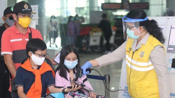 Pelaku Perjalanan Bandara SAMS Sepinggan Balikpapan, Wajib Swab PCR Negatif, Berikut Aturannya