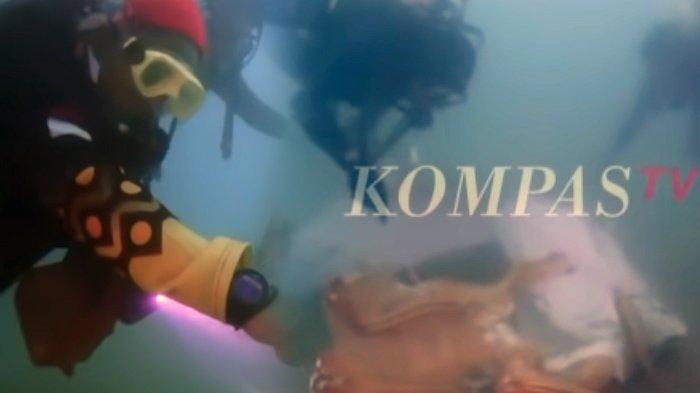 Detik-detik Penyelam Temukan Jejak Sriwijaya Air SJ 182 di Laut, Ada Oksigen Pilot Captain Afwan