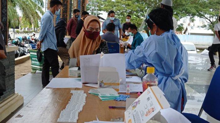 Pastikan Pilkada Bebas Covid-19, Penyelenggara Pemilu di Bulungan Jalani Rapid Test Hari Ini