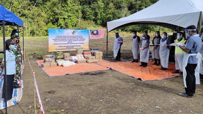 Malaysia Lockdown, Warga di Krayan Tetap Terima Distribusi Kebutuhan Pokok dari Negeri Jiran