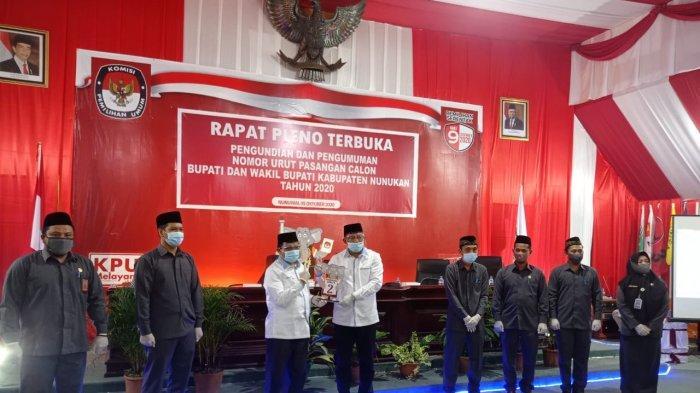 Setelah Tetapkan Nomor Urut, Ketua KPU Berikan Deadline Kepada Dani-Nasir Jelang Pilkada Nunukan
