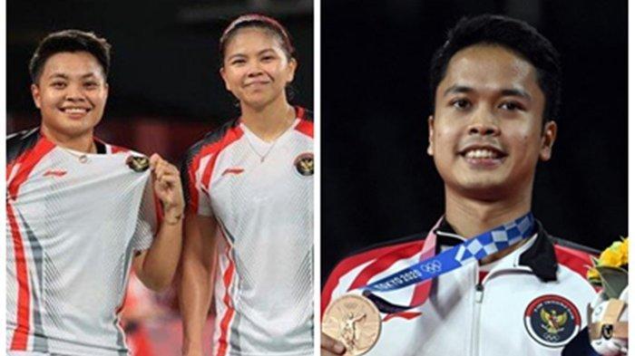 Update Perolehan Medali Olimpiade Tokyo 2020, Indonesia Terbaik di Negara ASEAN, China Dominasi Emas
