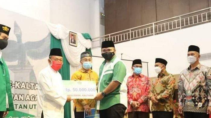 Pembangunan Asrama Haji Transit dan Madrasah Aliyah Negeri Insan Cendekia (MAN-IC) di Kota Tarakan, Kalimantan Utara resmi dimulai ditandai dengan penandatanganan prasasti oleh Menteri Agama.