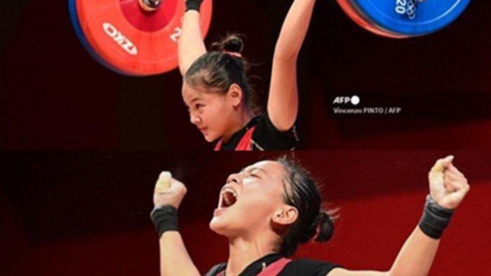 Perjuangan LifterCantik Indonesia Windy Cantika Juara di Olimpiade Tokyo, Sempat Kena Corona & Ini