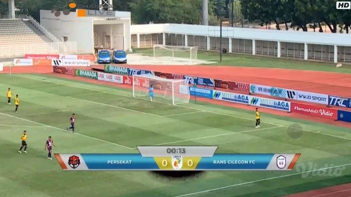 BERLANGSUNG Live Streaming Persekat vs RANS Cilegon FC di Liga 2, Eks Penggawa Arema FC Starter