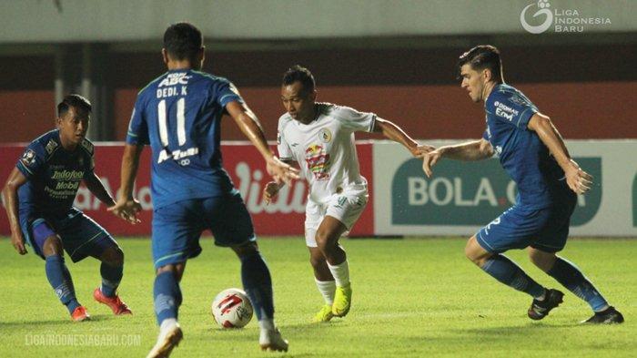 Persib Menang di Leg Pertama Semifinal Piala Menpora 2021, Pemain Idola Bobotoh Puji PS Sleman