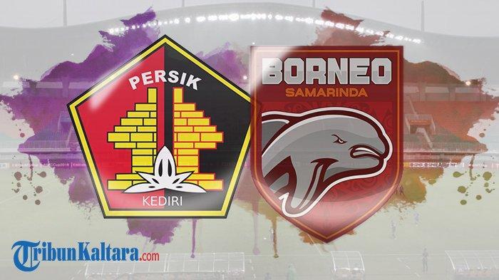 Persik vs Borneo FC. (TribunKaltara.com)