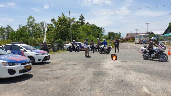 Ditlantas Polda Kaltara Gelar Safety Riding & Driving, Kombes Rachmad: Langkah Persiapan Kawal RI 1
